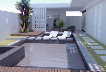 Diseño de Terraza: Residencia de Juan Gómez